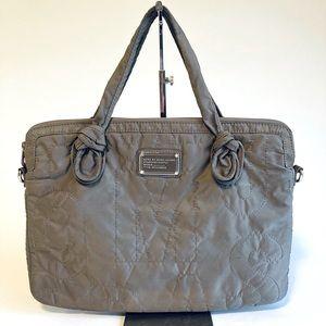 Mars Jacobs Grey Nylon Computer Bag